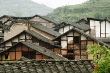 Fubao Folk House6 Stock Photo