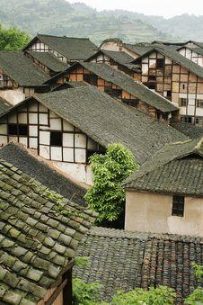 Free Fubao Folk House12 Stock Image - 1130921