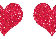 Free Two Hearts Royalty Free Stock Images - 1130989