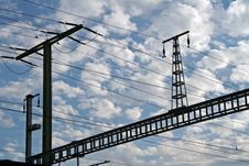 Free Power Lines Royalty Free Stock Images - 1131239