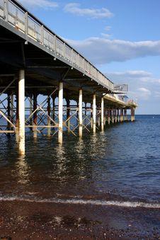 Free Teignmouth Pier Royalty Free Stock Photo - 1131275