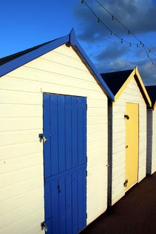 Free Beach Huts Royalty Free Stock Images - 1131289