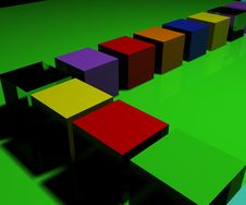 Free Cubes Stock Images - 1131414