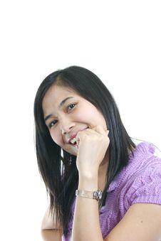 She Smile 24 Royalty Free Stock Photo