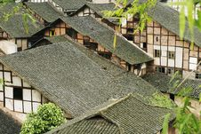 Fubao Folk House20 Royalty Free Stock Image