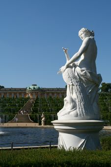 Free Castle Of Sanssouci Stock Image - 1132331