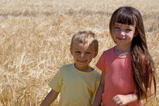 Free Sister And Brother Stock Photography - 1133712