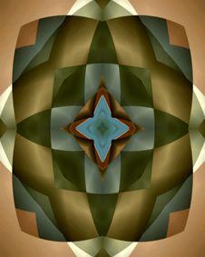 Free Burnished Harlequin Star Tile Royalty Free Stock Image - 1133786