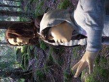 Free Dummies Lost In Forest Stock Image - 1133911