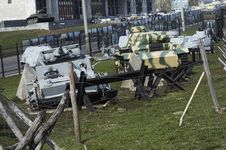 Free The Tanks Royalty Free Stock Photo - 1134055