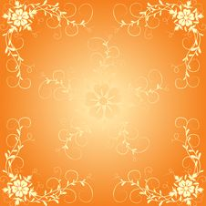 Free Floral Background, Vector Royalty Free Stock Photography - 1134487