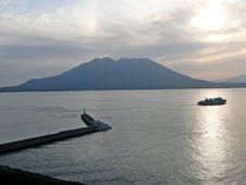 Free Sakurajima Volcano Royalty Free Stock Photography - 1134657