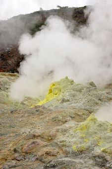 The Volcano Royalty Free Stock Photography