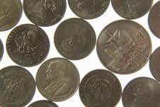 Free Coins-13 Royalty Free Stock Photos - 1135398