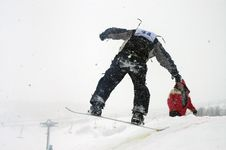 Free Snowboard 14 Royalty Free Stock Images - 1135779