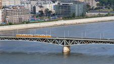 Free Tramway On A Bridge Stock Image - 1135811