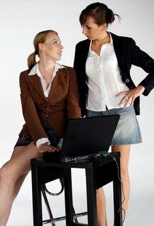 Free Office Girls Stock Photo - 1135920