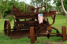 Free Very Vintage Tractor Stock Photo - 1136960