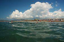Free People Having Fun On The Beach Stock Photo - 1138400