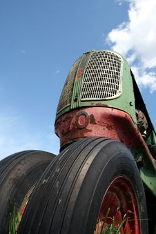 Free Old Tractor Royalty Free Stock Photography - 1138677