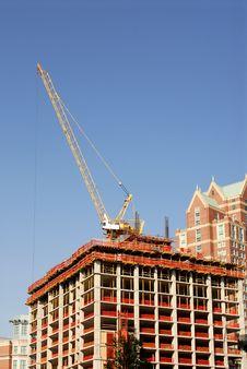 Free Construction Crane 2 Royalty Free Stock Photos - 1138878