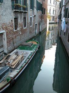 Free Venice Back Streeet Stock Image - 1139681