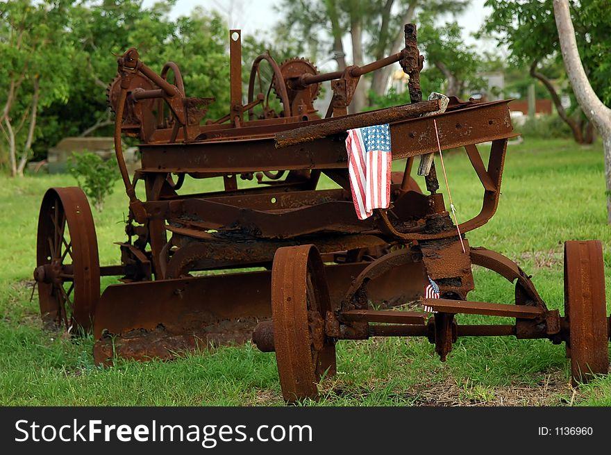 Very vintage Tractor