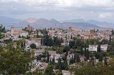Free Alhambra Royalty Free Stock Photos - 11305818