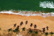 Free Bird S Eye View Of Ocean Royalty Free Stock Images - 113036149