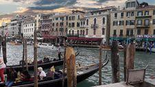 Free Waterway, Water Transportation, Canal, Gondola Royalty Free Stock Photo - 113063105