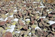 Free Rock, Soil, Rubble, Geology Stock Photography - 113063402