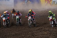 Free Motocross, Racing, Motorcycle Racing, Motorsport Stock Images - 113064564