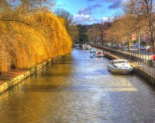 Free Canal, Waterway, Water, Reflection Royalty Free Stock Images - 113064809
