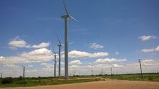 Free Wind Turbine, Wind Farm, Windmill, Field Stock Photos - 113066703