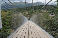 Free Bridge, Suspension Bridge, Rope Bridge, Fixed Link Royalty Free Stock Images - 113067439