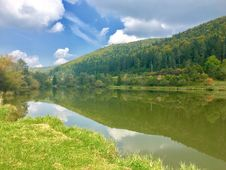 Free Reflection, Nature, Tarn, Nature Reserve Stock Image - 113068701