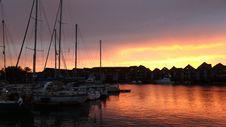 Free Marina, Sky, Sunset, Dock Stock Images - 113069024