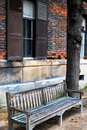Free A Solitary Wooden Bench Stock Photography - 11317592