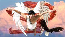 Free Dancer, Sky, Angel, Wing Stock Photo - 113146090