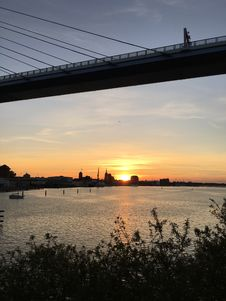 Free Sky, Sunset, River, Reflection Royalty Free Stock Photography - 113149467