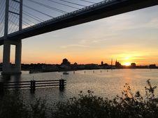 Free Sky, Reflection, Bridge, Water Stock Photography - 113149542