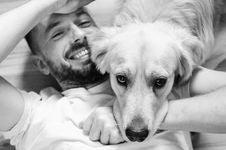 Free Dog, Photograph, Dog Breed, Black And White Stock Image - 113152021