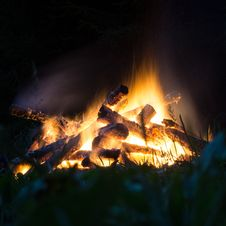 Free Fire, Campfire, Bonfire, Flame Stock Photos - 113152843