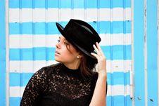 Free Blue, Fashion Accessory, Headgear, Hat Stock Photos - 113154633