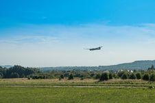 Free Sky, Airplane, Flight, Field Stock Photos - 113154773