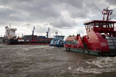 Free Container Ship, Water Transportation, Waterway, Ship Stock Images - 113155914