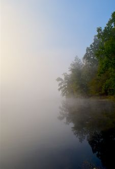 Free River, Mist, Water, Waterway Royalty Free Stock Images - 113157679