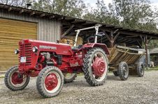Free Tractor, Agricultural Machinery, Motor Vehicle, Vehicle Stock Images - 113168154
