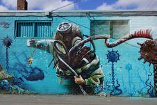 Free Art, Street Art, Graffiti, Mural Stock Image - 113168761