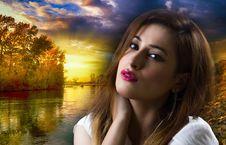 Free Nature, Beauty, Lady, Sky Royalty Free Stock Photo - 113171035